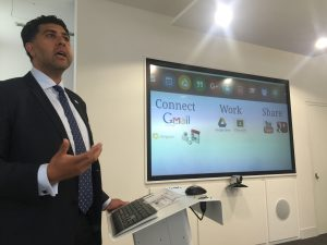 Yousef Fouda describes Warwickshire College Group's use of Google tools